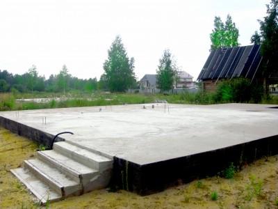 Фундамент плита под ключ